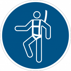M018 : Harnais de sécurité obligatoire