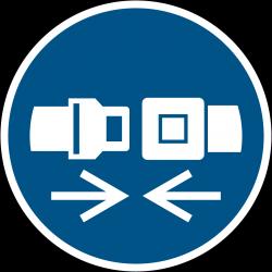 M020 : Attacher la ceinture de sécurité