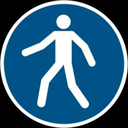 M024 : Piétons, utilisez le passage
