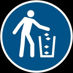 M030 : Utiliser la poubelle