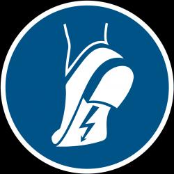 M032 : Chaussures antistatiques obligatoires