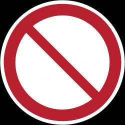 P001 : Interdiction générale