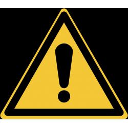W001 : Danger général
