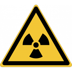 W003 : Danger, matières radioactive ou radiations ionisantes