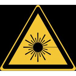 W004 : Danger, rayonnement laser