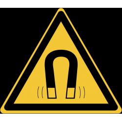 W006 : Danger champ magnétique