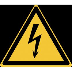 W012 : Danger, électricité