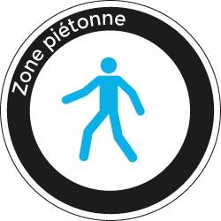Zone piétonne