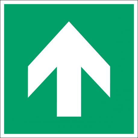 Flèche directionnelle 90°