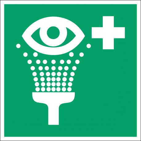 E011 : Equipement de rinçage des yeux