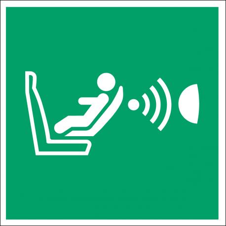 E014 : Système de détection de présence d'un siège enfant et de son orientation.