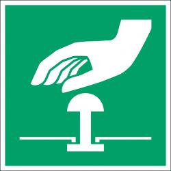 E020 : Bouton d'arrêt d'urgence