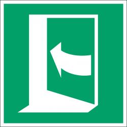 E022 : Porte qui s'ouvre en poussant sur son coté gauche