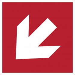 A045R : Flèche directionnelle 45°
