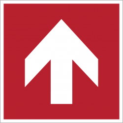 A090R : Flèche directionnelle 90°