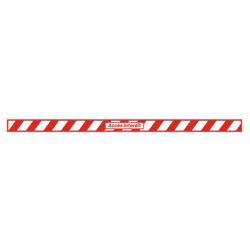 bande 1200x50 accès interdit