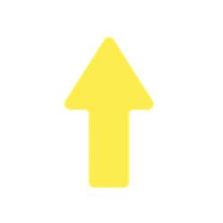 Flèche flux grand format