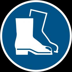 M008 : Chaussures de sécurité obligatoires