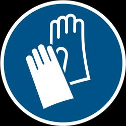 M009 : Gants de protection obligatoire