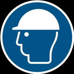 M014 : Casque de protection obligatoire