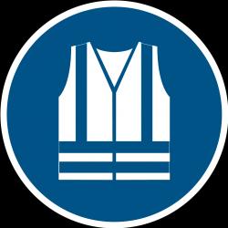 M015 : Gilet de sécurité haute visibilité obligatoire